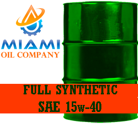 SAE_15w40_Full_Synthetic_Diesel_Oil_55_Gallon_Drum