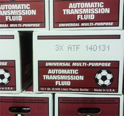 Transmission fluid type A