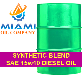 SAE_15w40_Diesel_Oil_Synthetic_Blend_55_Gallon_Drum